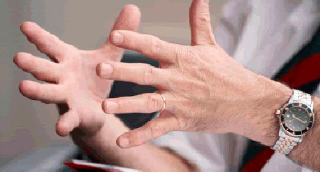 When leaders talk with their hands