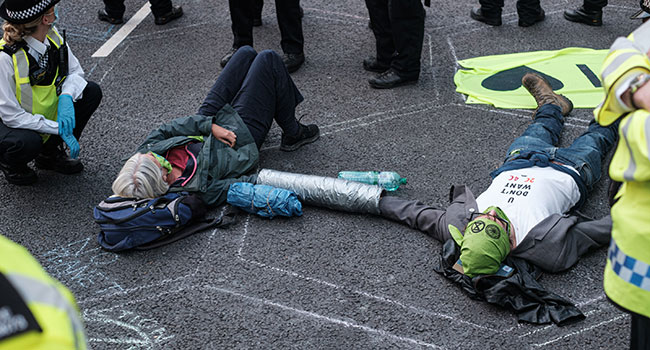 The truth about Extinction Rebellion's smiley-face terrorism