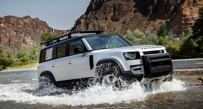 Land Rover Defender utilitarian, retro and capable
