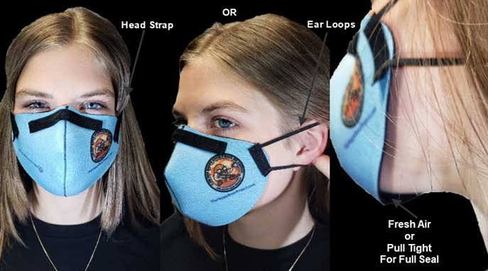 Inventor reimagines beer accessory to create a better mask