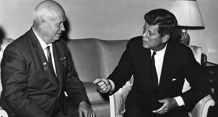 J.F.K. dug a deep hole in his relationship with Khrushchev